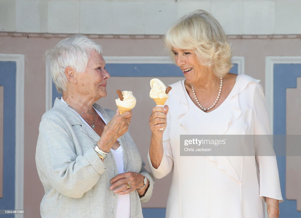 The Duchess Of Cornwall Visits The Isle Of Wight : News Photo