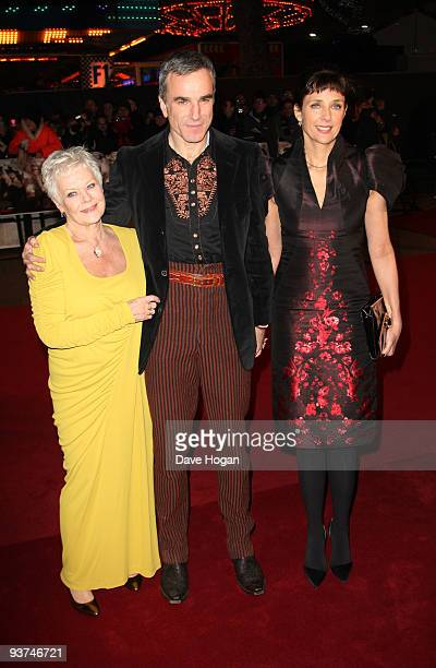 Dame Judi Dench and Daniel Day Lewis attend the world premiere of Nine held at the Odeon Leicester Square on December 3 2009 in London England