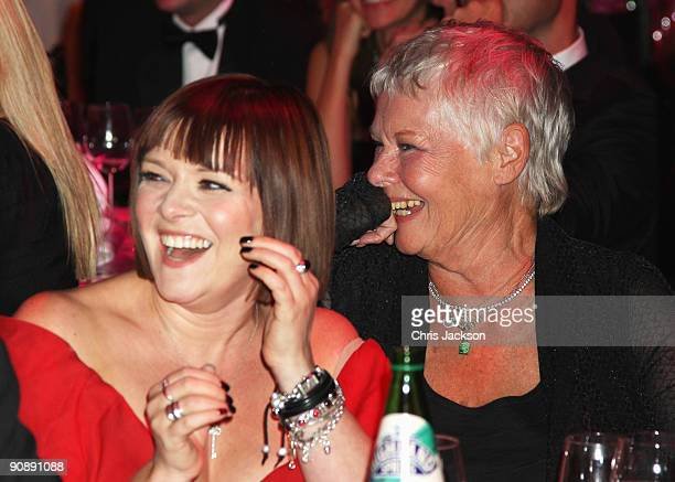 Dame Judi Dench and daughter Finty Williams attend the Collars and Cuffs Ball at the Royal Opera House on September 17, 2009 in London, England.