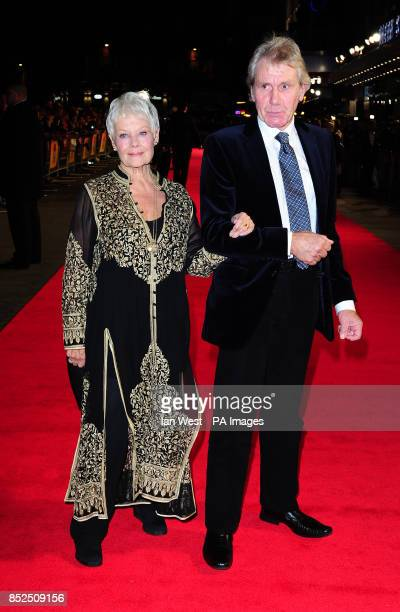 Dame Judi Dench and David Mills attend a gala screening for new film Philomena at the Odeon Cinema in London