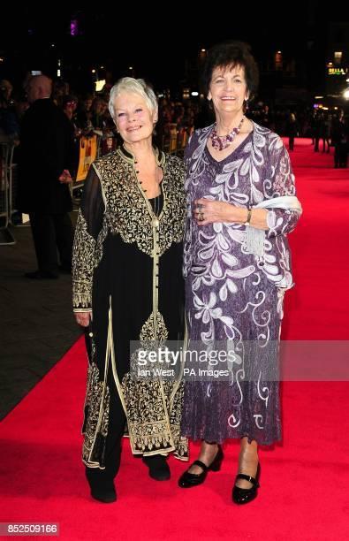 Dame Judi Dench and Philomena Lee attending a gala screening for new film Philomena at the Odeon Cinema in London
