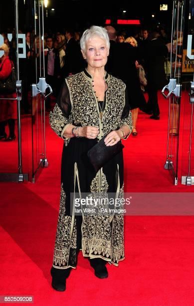 Dame Judi Dench attending a gala screening for new film Philomena at the Odeon Cinema in London