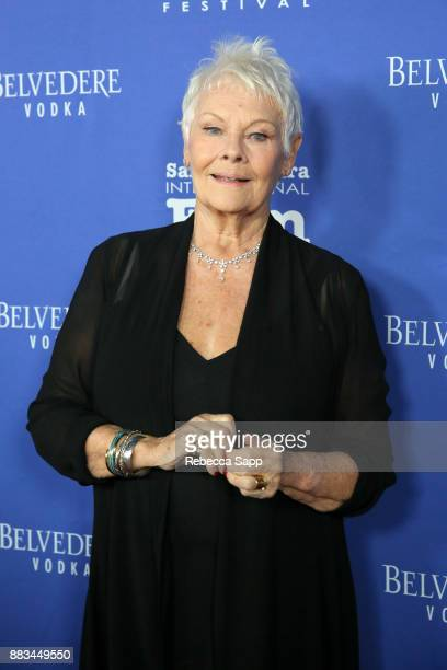 Dame Judi Dench attends Santa Barbara International Film Festival Kirk Douglas Award of Excellence Dinner sponsored by Belvedere Vodka honoring Dame...
