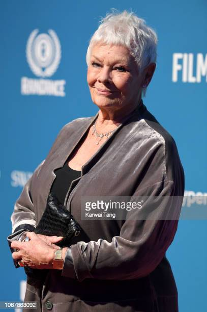 Dame Judi Dench attends the 21st British Independent Film Awards at Old Billingsgate on December 2 2018 in London England