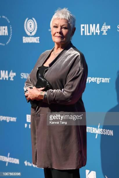Dame Judi Dench attends the 21st British Independent Film Awards at Old Billingsgate on December 2 2018 in London England