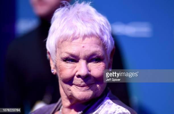 Dame Judi Dench attends the 21st British Independent Film Awards at Old Billingsgate on December 02 2018 in London England