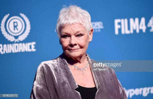 Dame Judi Dench attends the 21st British Independent Film Awards at Old Billingsgate on December 02 2018 in London England