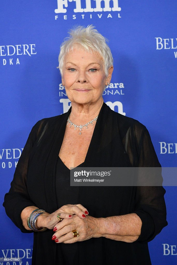 Dame Judi Dench attends the Santa Barbara International Film Festival honors Judi Dench with the annual Kirk Douglas Award For Excellence In Film at Bacara Resort & Spa on November 30, 2017 in Goleta, California.
