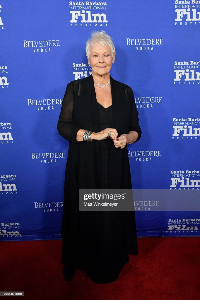 Santa Barbara International Film Festival Honors Judi Dench With Annual Kirk Douglas Award For Excellence In Film - Arrivals