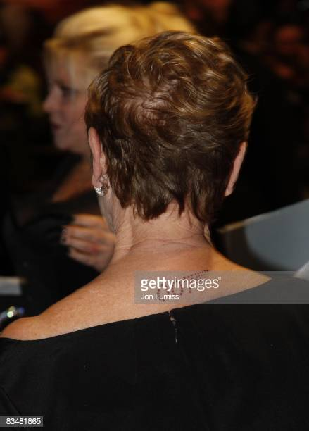 Dame Judi Dench attends the world premiere of 'Quantum of Solace' at Odeon Leicester Square on October 29, 2008 in London, England.
