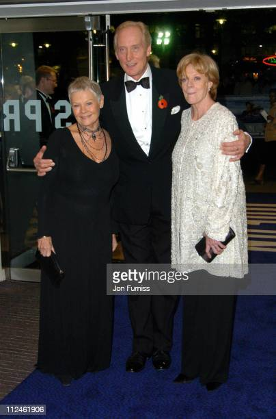 Dame Judi Dench Charles Dance and Dame Maggie Smith