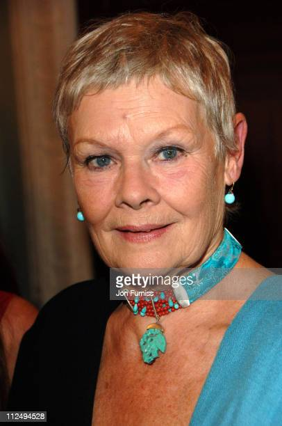 Dame Judi Dench during Dirty Dancing: The Classic Story On Stage Premiere - Inside Arrivals at Aldwych Theatre in London, Great Britain.