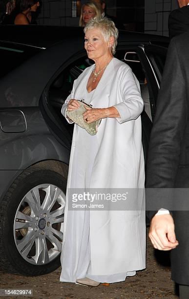 Dame Judi Dench sighting on October 23 2012 in London England