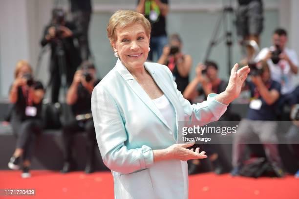 Dame Julie Andrews arrives to be awarded the Golden Lion for Lifetime Achievement during the 76th Venice Film Festival at Sala Grande on September...