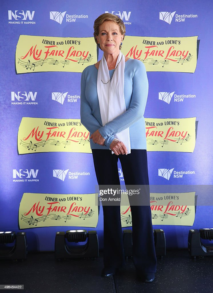 Dame Julie Andrews Media Conference
