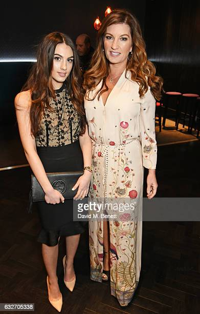 Dame Karren Brady and daughter Sophia attend the National Television Awards cocktail reception at The O2 Arena on January 25 2017 in London England