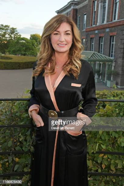 Dame Karren Brady attends the ATG Summer Party at Kensington Palace Gardens in celebration of Sir Ian McKellen on September 8, 2019 in London,...