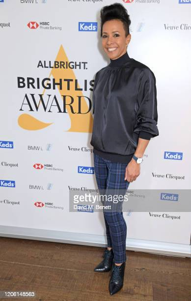 Dame Kelly Holmes attends AllBright's inaugural BrightList Awards 2020 at all-female members club The AllBright Mayfair on March 9, 2020 in London,...