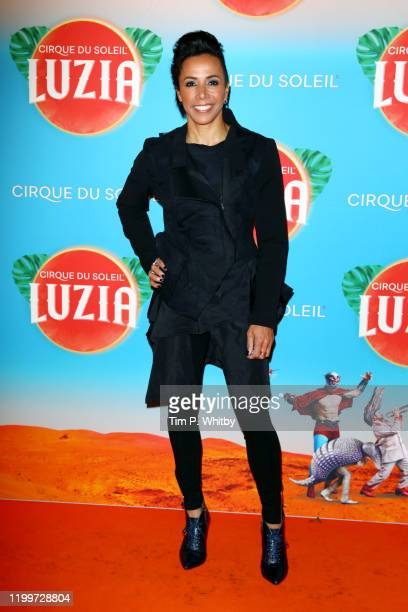 """Dame Kelly Holmes attends Cirque du Soleil's """"LUZIA"""" at Royal Albert Hall on January 15, 2020 in London, England."""