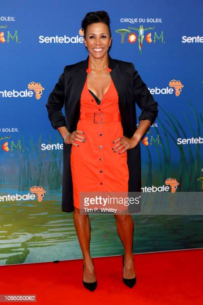 Dame Kelly Holmes attends the Cirque du Soleil Premiere Of TOTEM at Royal Albert Hall on January 16 2019 in London England