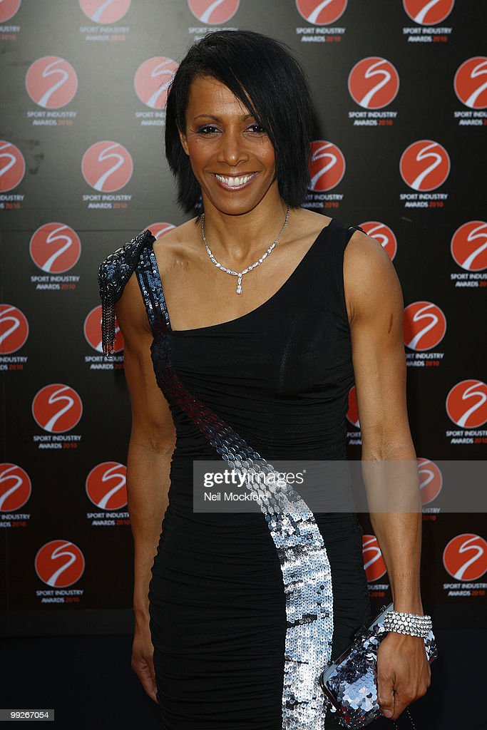 Dame Kelly Holmes attends the Sport Industry Awards at Battersea Evolution on May 13, 2010 in London, England.
