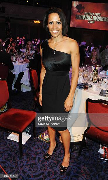 Dame Kelly Holmes attends the Variety Club Showbiz Awards at the Grosvenor House on November 15 2009 in London England