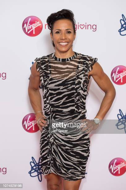 Dame Kelly Holmes attends the Virgin Money Giving Mind Media Awards 2018 at Queen Elizabeth Hall on November 29 2018 in London England