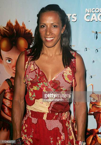 """Dame Kelly Holmes during """"The Ant Bully"""" Special Screening - July 30, 2006 at Vue West End in London, Great Britain."""