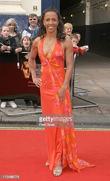 Dame Kelly Holmes during The Pioneer British Academy Television Awards - Outside Arrivals at Royal Theatre in London, Great Britain.