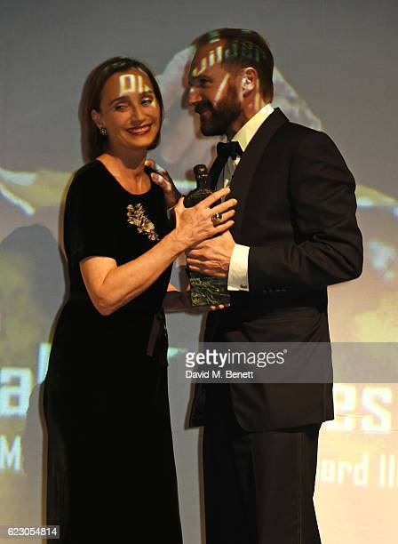 Dame Kristin Scott Thomas and Ralph Fiennes attend the 62nd London Evening Standard Theatre Awards, recognising excellence from across the world of...