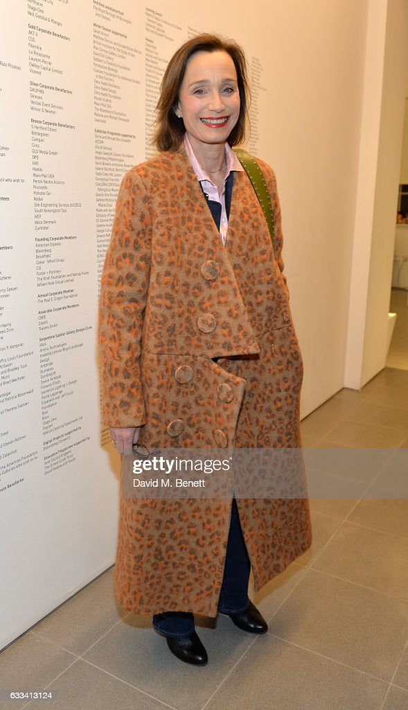 Dame Kristin Scott Thomas attends as PORTER hosts the first of their 'Incredible Women' Talks supported by Mark's Club at The Serpentine Sackler Gallery on February 1, 2017 in London, England.