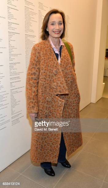 Dame Kristin Scott Thomas attends as PORTER hosts the first of their 'Incredible Women' Talks supported by Mark's Club at The Serpentine Sackler...