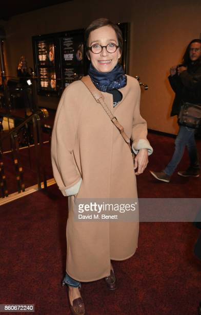 Dame Kristin Scott Thomas attends the PORTER Lionsgate UK screening of 'Film Stars Don't Die In Liverpool' at Cineworld Leicester Square on October...