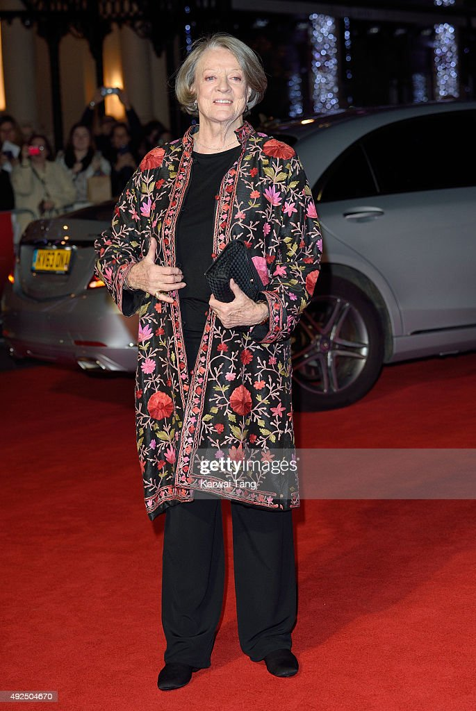 """The Lady In The Van"" - Centrepiece Gala - BFI London Film Festival : News Photo"