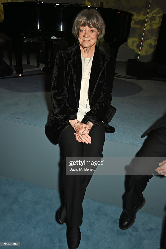 Dame Maggie Smith attends the 62nd London Evening Standard Theatre Awards, recognising excellence from across the world of theatre and beyond, at The Old Vic Theatre on November 13, 2016 in London, England.