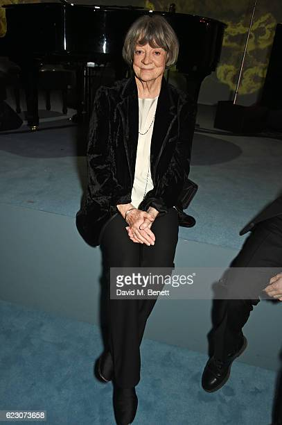 Dame Maggie Smith attends the 62nd London Evening Standard Theatre Awards recognising excellence from across the world of theatre and beyond at The...