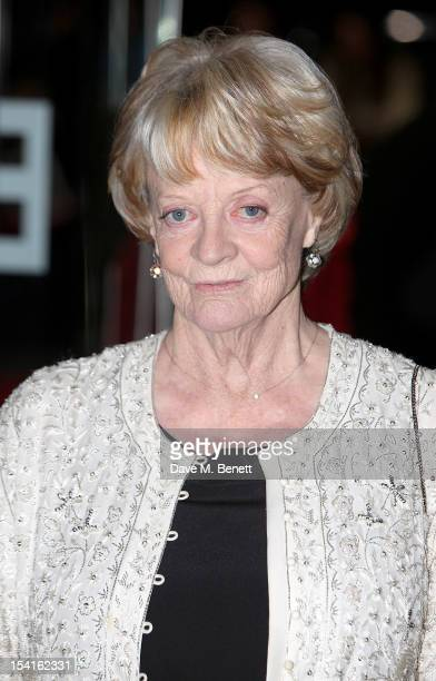 Dame Maggie Smith attends the Premiere of 'Quartet' during the 56th BFI London Film Festival at Odeon Leicester Square on October 15, 2012 in London,...