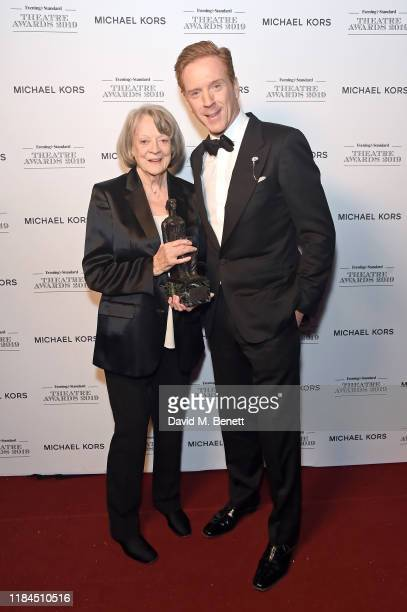 Dame Maggie Smith, winner of Natasha Richardson Award for Best Actress Award in partnership with Christian Louboutin for 'A German Life' presented by...