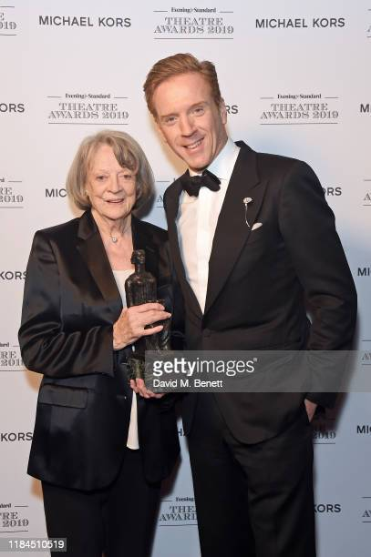 Dame Maggie Smith winner of Natasha Richardson Award for Best Actress Award in partnership with Christian Louboutin for 'A German Life' presented by...
