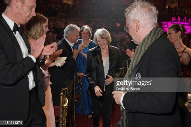 Dame Maggie Smith winner of Natasha Richardson Award for Best Actress Award in partnership with Christian Louboutin for 'A German Life' attends the...