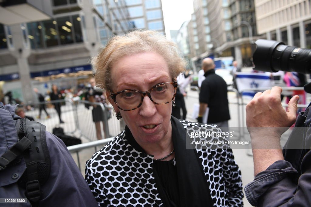 Dame Margaret Beckett at a mee...