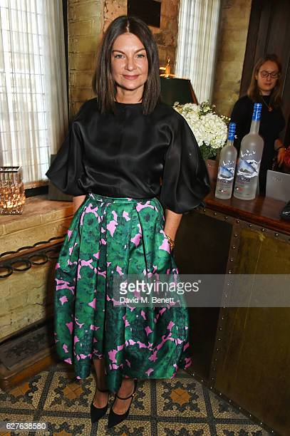 Dame Natalie Massenet attends The Fashion Awards in partnership with Swarovski nominees' lunch hosted by the British Fashion Council with Grey Goose...