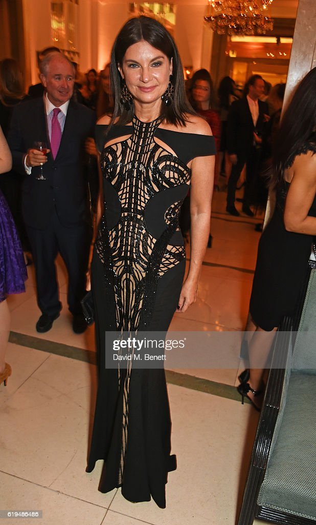 Dame Natalie Massenet attends the Harper's Bazaar Women of the Year Awards 2016 at Claridge's Hotel on October 31, 2016 in London, England.