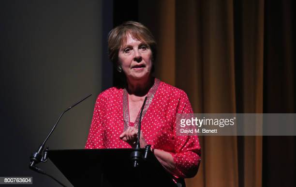 Dame Penelope Wilton attends the BFI Southbank's tribute to Sir John Hurt on June 25 2017 in London England