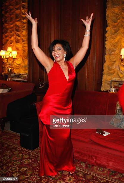 Dame Shirley Bassey attends Liz Brewer's Christmas party for her good friend Dame Shirley Bassey to celebrate her 70th Birthday kindly hosted by...