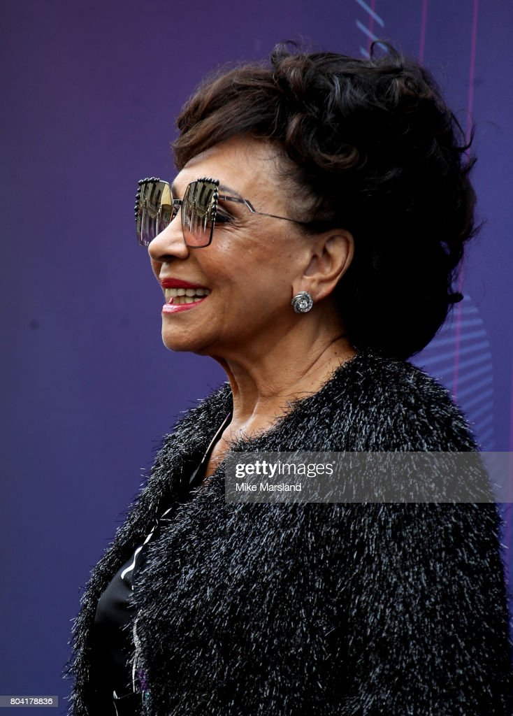 Dame Shirley Bassey attends Nordoff Robbins O2 Silver Clef awards at The Grosvenor House Hotel on June 30, 2017 in London, England.