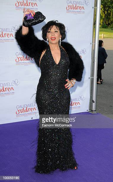 Dame Shirley Bassey attends The Caudwell Children Butterfly Ball at Battersea Evolution on May 20 2010 in London England