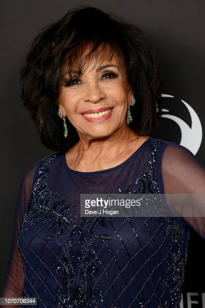 Dame Shirley Bassey attends the Julien Macdonald Fashion Show for National Osteoporosis Society at Lancaster House on November 21 2018 in London...