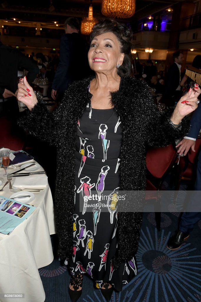 Dame Shirley Bassey attends the Nordoff Robbins O2 Silver Clef Awards at The Grosvenor House Hotel on June 30, 2017 in London, England.