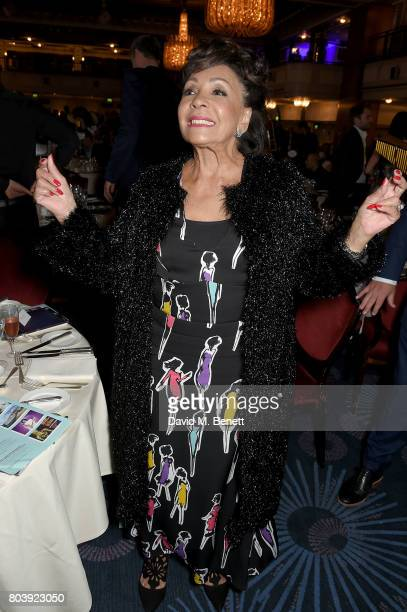 Dame Shirley Bassey attends the Nordoff Robbins O2 Silver Clef Awards at The Grosvenor House Hotel on June 30 2017 in London England
